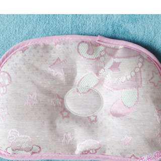 特價 定形枕 卡通涼枕 夏天寶寶 冰絲 可拆 枕頭 兒童亞麻草茶葉席枕