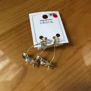 日本耳環 earrings
