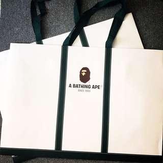 🚚 Bape 紙袋