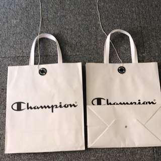 🚚 Champion 小紙袋