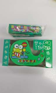 青蛙仔釘書機和膠紙座