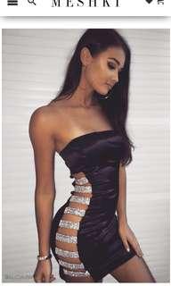 MESHKI Alessia Diamante Dress BNWT