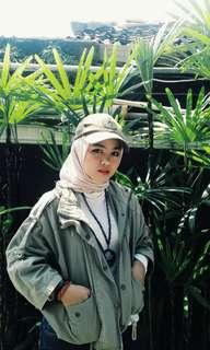 Army crop jacket