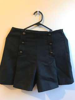 GU Black shorts