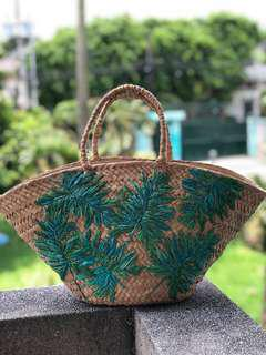 Native weave bag aranaz