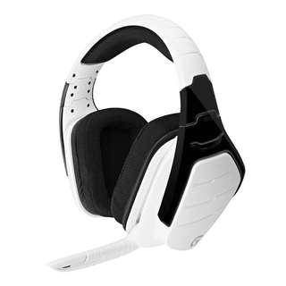🚚 (OFFER) Logitech G933 Artemis Spectrum RGB 7.1 Surround Sound Gaming Headset - Snow White