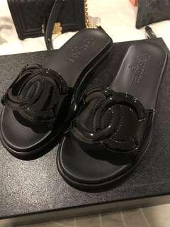 Chanel Slides Size 36 RRP $1000