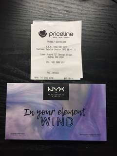 Limited Edition NYX Eye Palette Wind