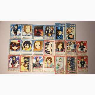 Precious Memories (K-On) Cards