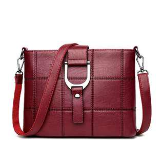 055143bd4938 (PO) Women Messenger Bags Designer Woman Bag Leather Shoulder Bags Tote Bag