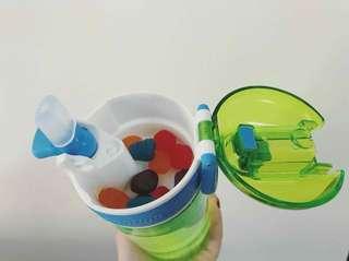 美國🇺🇸Contigo兒童2合1零食水樽(2個/pack)