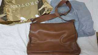 OROTON LEATHER SLING BAG