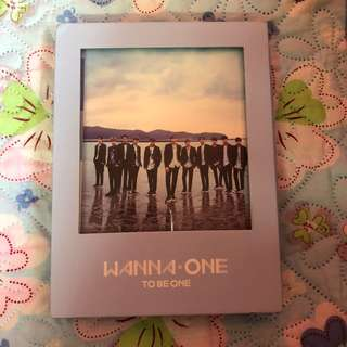(UNSEALED) WANNA ONE TO BE ONE SKY VER ALBUM