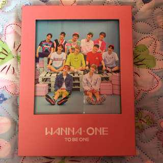 (UNSEALED) WANNA ONE TO BE ONE PINK VER ALBUM