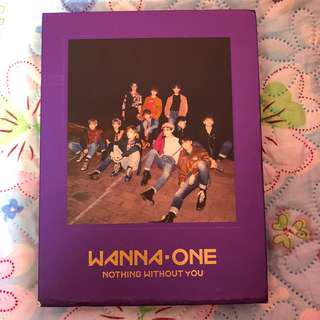 (UNSEALED) WANNA ONE NOTHING WITHOUT YOU WANNA VER ALBUM