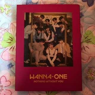 (UNSEALED) WANNA ONE NOTHING WITHOUT YOU ONE VER ALBUM
