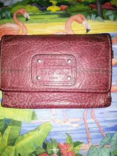 📌authentic fossil wallet