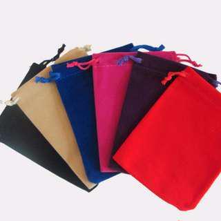 🚚 Velvet Drawstring bag