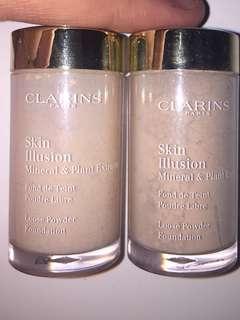CLARINS POWDER