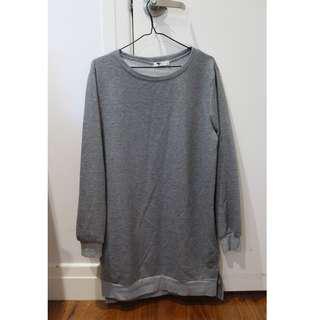 grey dress jumper