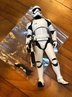 tamashii nations bandai shf star wars first order trooper