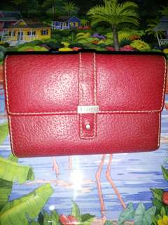 📌auth,Lauren wallet,color red