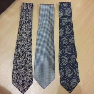 Ties 3 for rm5