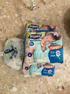 NB Drypers Diapers