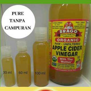 Cuka apel murni 100% 30ml