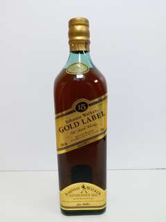 Johnny Walker Gold Label 15 年