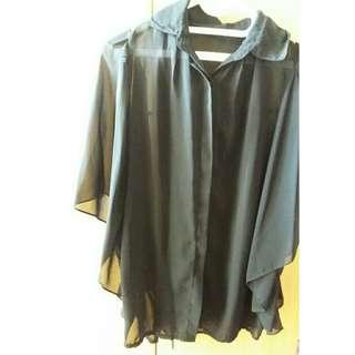 Baju Big Size - Blouse Sifon Big Size