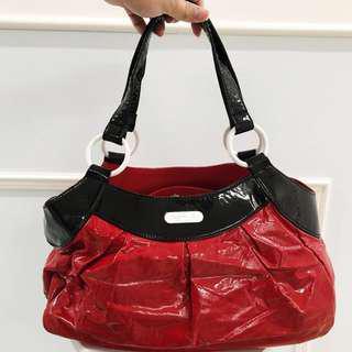 🚚 100% Authentic Agnes B Red Shoulder Bag