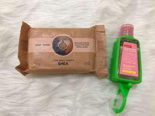 THE BODY SHOP and BENCH BUNDLE