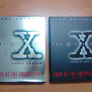 The X Files Book Of The Unexplained.