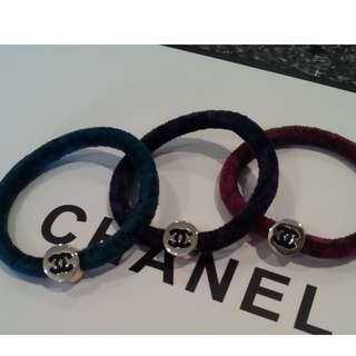 Chanel VIP Gift Round Metal Hair tie