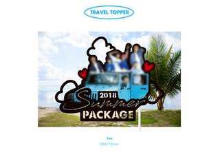 BTS SUMMER PACKAGE TRAVEL TOPPER