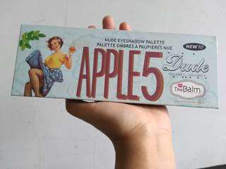 Eyeshadow pallet nude dude volume 2 the balm story apple 5