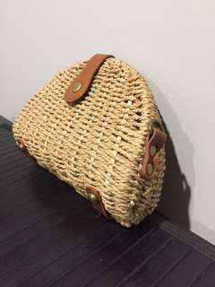 Wicker bag/purse