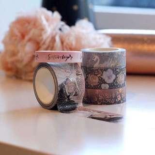 Bloomsical Premium Washi Tape Set