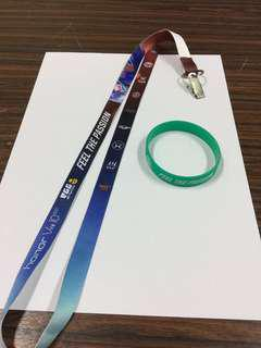 Mobile Legend Professional League Lanyard and band