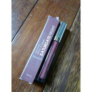 Wardah Exclusive Matte Lip Cream Shade 18