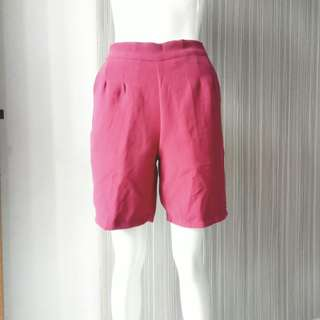 Basic Culottes / Celana Kulot Red