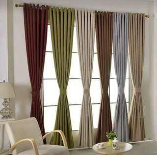 Curtain home made