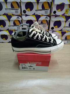 CONVERSE CHUCK TAYLOR ALL STAR 70s LOW BLACK WHITE MIRROR QUALITY