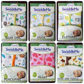 📮Free mailing • Summer SwaddleMe Instant baby swaddle girl boy
