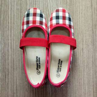 Tartan Flat Shoes / Sepatu Flat Shoes