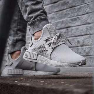 (PO) Adidas Mens NMD XR1 Silver Grey