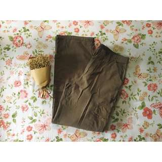 Men's Cargo Pants in Dark Green