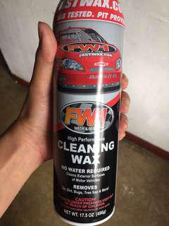 FW1 Waterless Cleaner/Wax