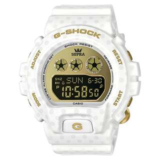 CASIO G-SHOCK 6900 S series x SUPRA GMD-S6900SP-7 白色 GSHOCK GMDS6900SP